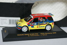 Ixo 1/43 - Suzuki Ignis S1600 Rally Germany 2006