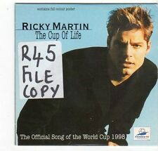 (EZ331) Ricky Martin, The Cup Of Life - 1998 CD