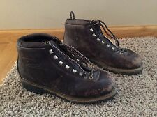 Vintage Hiking Mountaineering Made in Italy Leather Men's Trail Boots Size 9.5 M