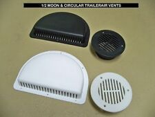 TRAILER SIDE WALL AIR VENTS - Black or White