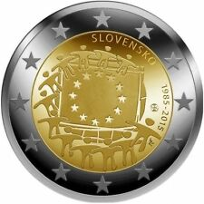 Slovakia 2015 30 Years Europe Flag - European Flag uncirculated