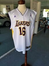 Adidas Los Angeles Lakers Pau Gasol Swingman NBA Jersey Men's XL.