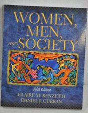 Women, Men, and Society by Renzetti Curran 5th edition Excellent Condition