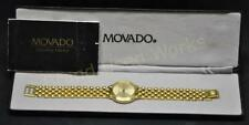 Men's Movado CERTA Gold Tone  w/ Hour Indicators Gold Tone Swiss Quartz Watch