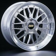 BBS 17 x 7.5 LM Car Wheel Rim 4 x 100 Part # LM198DSPK