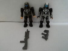 HALO 2-Figure ODST LOT Artic and rare ODST from Tribute Pack Mega Bloks 1333