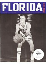 1968 FLORIDA GATORS vs Alabama Crimson Tide COLLEGE BASKETBALL PROGRAM Neal Walk
