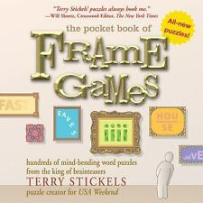 The Pocket Book of Frame Games: Hundreds of Mind-Bending Word Puzzles from the K