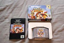 Banjo Tooie Nintendo 64 RARE TESTED PAL UK N64 Complete Boxed + Manual Excellent