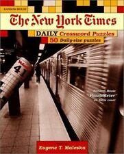 New York Times Daily Crossword Puzzles, Volume 41 The New York Times