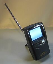 "Used Casio Handheld Portable Color Analog TV Television  2.3"" LCD Model #TV-980B"