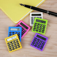 Plastic Digits LCD Display Pocket Cartoon Small Travel Mini Portable Calculator