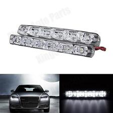 2pcs White 6-LED 5630 Car Daytime Running Light DRL Daylight High Power Fog Lamp