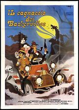 IL CAGNACCIO DEI BASKERVILLES MANIFESTO FILM PAUL MORRISSEY 1978 MOVIE POSTER 4F