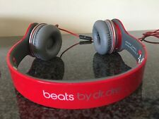DR Dre BEATS RRP £ 160 SPECIAL EDITION Assolo Hd in rosso, VALIGETTA