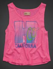 HOLLISTER ABERCROMBIE & FITCH MONARCH BEACH TANK TEE TOP M 10 12!