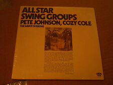 ALL STAR SWING GROUPS PETE JOHNSON COZY COLE THE SAVOY SESSIONS LP 2 VINYL'S NEW