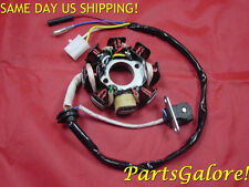 8 Coil 5 Wire Stator, 50-150cc GY6 Honda & Chinese ATV Scooter Motorcycle E118
