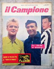 RIVISTA IL CAMPIONE NUMERO 24 1958 SIENA MONZA RAVENNA UDINESE TORINO CALCIO