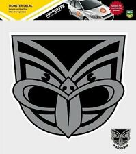 620176 NEW ZEALAND WARRIORS MONSTER DECAL SECONDARY NRL CAR STICKERS ITAG