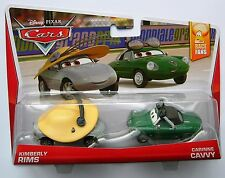 Disney Pixar Cars KIMBERLY RIMS & CARINNE CAVVY Very Rare UK !!