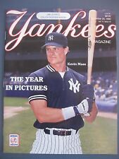 NEW YORK YANKEES MAGAZINE DECEMBER 20, 1990 THE YEAR IN PICTURES VOL 11 ISSUE 10