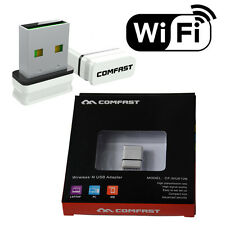 COMFAST WIFI MINI USB adattatore Wireless Dongle Adattatore da 802.11 a 300 Mbps RETE LAN
