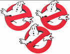 "Ghostbusters No Ghosts Screen Accurate 4"" Patch Set of 3-FREE S&H(GBPA-SET-1)"