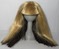 WIG ONLY ~REVERSIBLE BLONDE BRUNETTE SPIN MASTER LIV DOLL ACCESSORY FOR DIORAMA