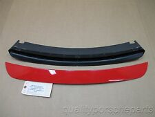 07 Boxster S RWD Porsche 987 Red Rear Spoiler TRIM 98750460900 83,845