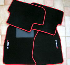 3000GT Mitsubishi GTO Stealth Twin Floor Mats VR4 SL VR-4 Blk Red