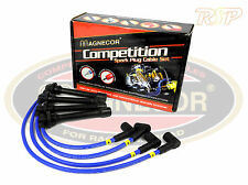 Magnecor 8mm Ignition HT Leads/wire/cable Audi 80 Coupe S2 20v Turbo 2.2 DOHC