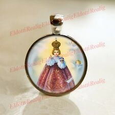 Infant Jesus of Prague - Religious Christian Catholic Medal Pendant / Charm