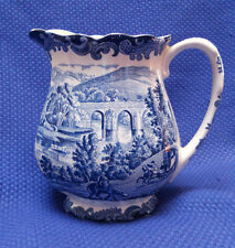 ROYAL WORCESTER SUBSIDIARY ~ PALISSY 1790 AVON SCENES ~ 16 OZ MILK PITCHER