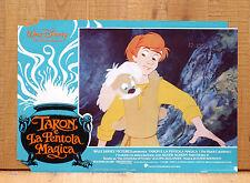 TARON E LA PENTOLA MAGICA fotobusta poster Walt Disney The Black Cauldron