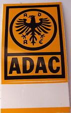 Aufkleber ADAC Automobilclub Mitglieder Plakette 80er Sticker Youngtimer eckig