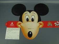 1988 Delta Airlines Fantastic Flyer Mickey Mouse Headband Unused Disney NM Rare