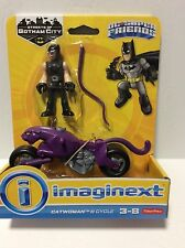 Fisher-Price Imaginext DC Super Friends Catwoman & Cycle Streets Of Gotham City