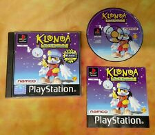 RARE - KLONOA for PS1/Playstation [COMPLETE & TESTED] [1997] PAL.