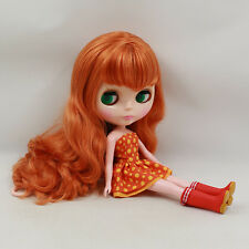 "12"" Neo Blythe Doll CURLY Hair Nude Doll from Factory JSW76010+Gift"
