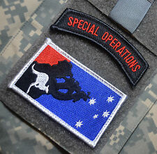 Operation Slipper Australian Defence Force ADF Afghan SSI: Aussie SAS + SP OPS
