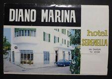 FOLDER PUBBLIC. HOTEL SERENELLA - DIANO MARINA - IMPERIA