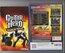 GUITAR HERO WORLD TOUR SOLUS PLAYSTATION 2 PS2 PS 2
