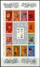 HONG KONG LUNAR NEW YEAR COLLECTION OF SINGLES & SHEET