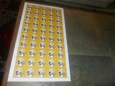 2010 FIFA WORLD CUP SOUTH AFRICA.FULL SHEET( 50 STAMPS) - UNMTD MINT.