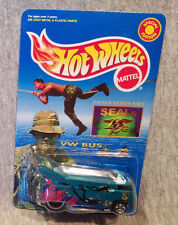 Hot Wheels VW Drag Bus NAVY SEALS Mint on Card - Great Military Blister Pack