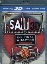 Saw: The Final Chapter [2 Discs]  (2011, Blu-ray NEUF) BLU-RAY/WS/3dtv2 DISC SET