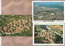 3 AK  Frankreich: Luftaufnahmen Minerve, Perouge, St.-Nazaire
