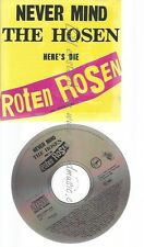 CD--NEVER MIND THE HOSEN HERE'S DIE ROTEN ROSEN --NO EAN