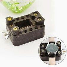 QUALITY LARGE WATCHMAKER WATCH MOVEMENT CASE HOLDER VICE CLAMP REPAIR TOOL D21